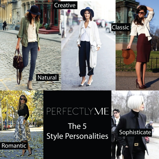 5-Style-Personalities